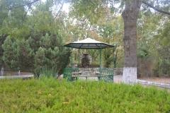беседка и фонтан